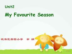 pep6 Unit2 My favourite season课件
