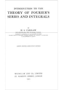 Carslaw H S Jaeger Conduction Of Heat In Solids (Brilliant)(1)