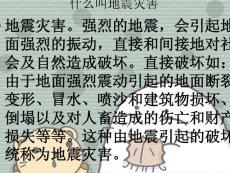 【小学教育】地震灾害