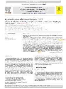 医用CT辐射剂量与辐射防护英文文献
