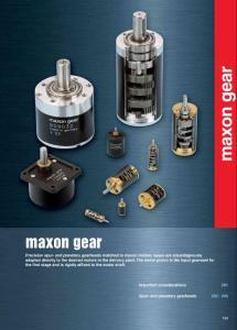 MAXON MOTOR 产品手册(2011-2012)[下]