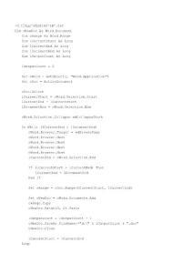 分割文档宏命令页篇