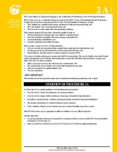 ISTA Procedure 2A 06-07