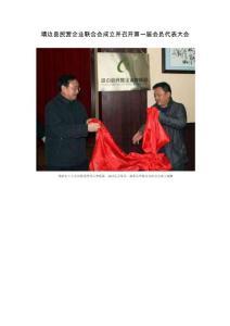 靖边县民营企业联合会成立并召开第一届会员代表大会