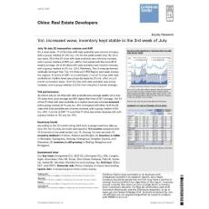 20120725-Goldman Sachs-Real Estate Developers:Vol. increased wow; inventory kep
