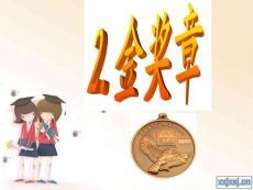 五上课件 金奖章 ppt(s版语文)