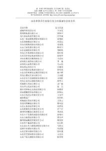 山东省食品行业综合实力百强部分企业名单2275638289