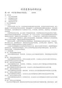 2012年重庆公需科目《科学素养与科研方法》课件