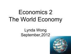 Economics 2 TO STUDE..