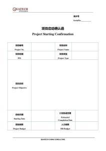 企业咨询项目管理