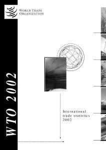 国际贸易统计年鉴(1998-2009)