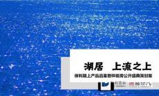 2012年湖居·上流之上-保利居上楼盘产品品鉴暨样板房公开盛典策划方案