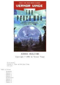 The Peace War - Vernor Vinge