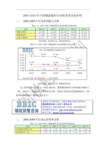 BBIC:2005-2010年中国微波器件行业财务基本面分析