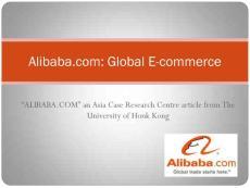 AlibabacomGlobal E-commerce