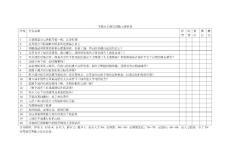 下级对上级管理能力评价表
