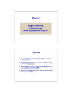 Chapter 5 Project Plann..