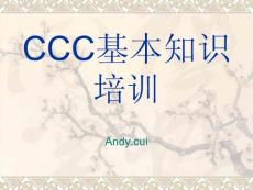 CCC基本知识培训