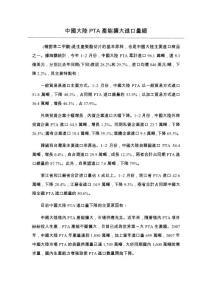 中國大陸PTA產能擴大進口..