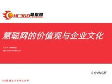 慧聰網企業文化價值觀(0624)