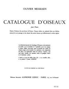 梅西安 鸟鸣集 7册合1 Catalogue d´Oiseaux 7 Book Messiaen钢琴谱