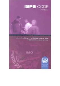 ISPS英文版_资格/认证考试-技工类职业技能考试