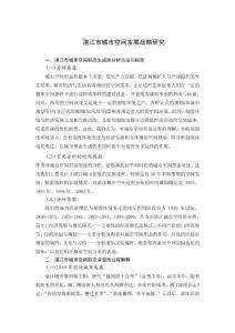 湛江市城市空间发展战略研究