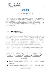 SCP模型(结构行为绩效模型)
