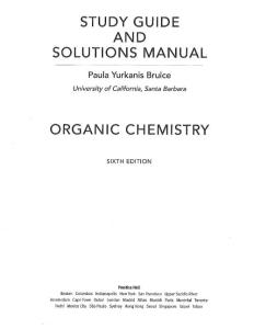 Bruice Solution of Organic Chemistry 6th I