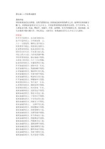 蔡长福——中医歌诀整理