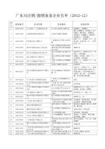 【精品】广东局注销撤销备..