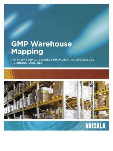GMP Warehouse Mapping - Vaisala:GMP仓库映射-维萨拉