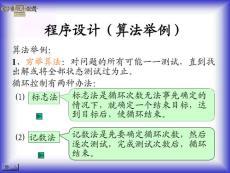 (1-4)程序设计算法举例