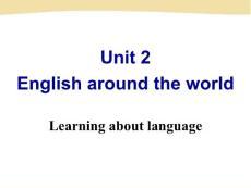 高中英语必修1课件:unit ..