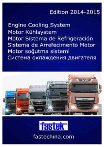 Truck COOLING SYSTEM PARTS