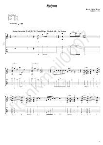 美国指弹大师AndyMcKee原版吉他谱rylynn