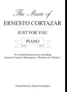 埃内斯托·科塔萨尔 专辑曲 人声与钢琴谱 Ernesto Cortazar - Just For You 乐谱