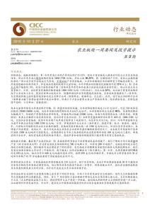 中金公司-101027-农业板块一周要闻及投资提示(1)