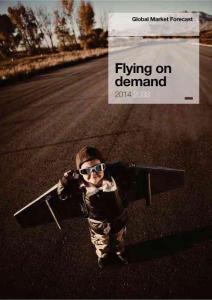 全球航空市场展望2014-2033