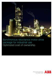 Synchronous reluctance motor-drive package for ...:同步磁阻马达驱动包...