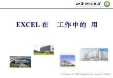 excel在财务工作中的应用(1)
