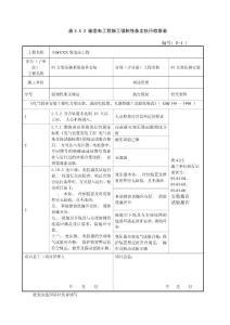 电气施工强制性条文执行检查表