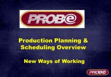 Production_Planning & Scheduling Overview Presentation